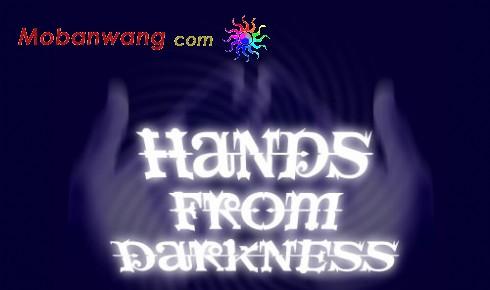 黑暗之手主题网页模板