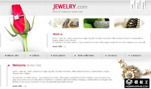自然与珠宝企业网站模板