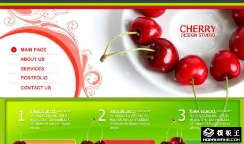 樱桃设计工作室网站模板
