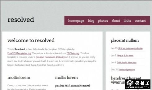 灰色噪点解决方案网页模板