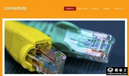 网络通信技术网页模板