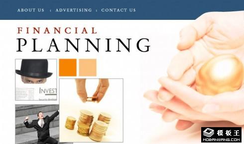 财务储蓄规划邮件网页模板