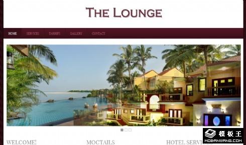 假期海景休闲中心网页模板