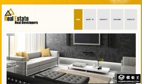 别墅开发商动态网页模板