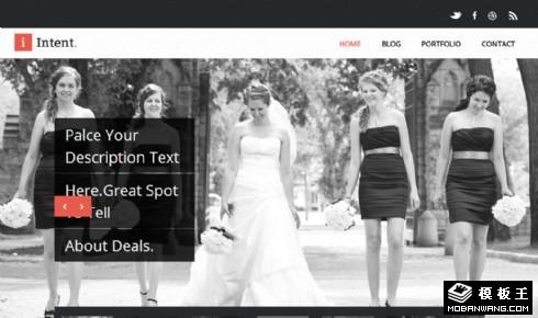 摄影艺术设计工作室网页模板