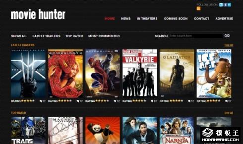 电影资料列表网页模板