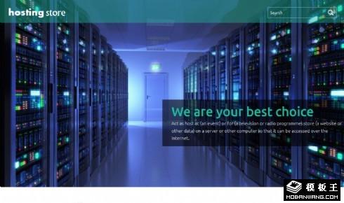 服务器机房业务介绍响应式网页模板