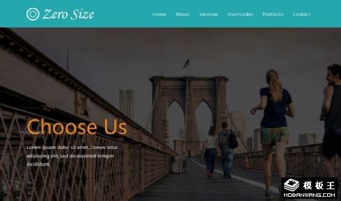 零号瑜伽健身响应式网站模板