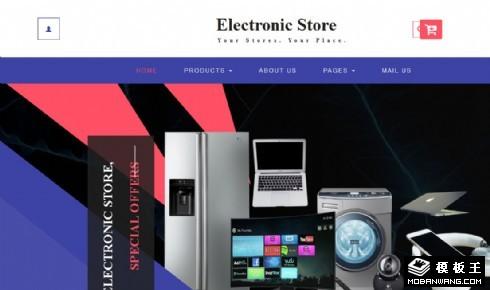 电子产品商城响应式网站模板