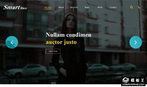 商务展示响应式企业网站模板
