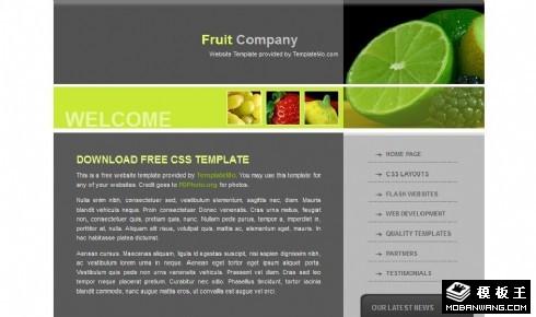 水果产品动态网页模板