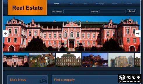 房产信息查询动态网页模板