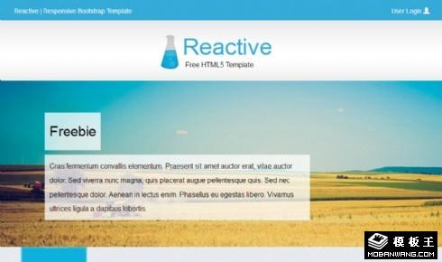 旅行日程安排响应式网页模板