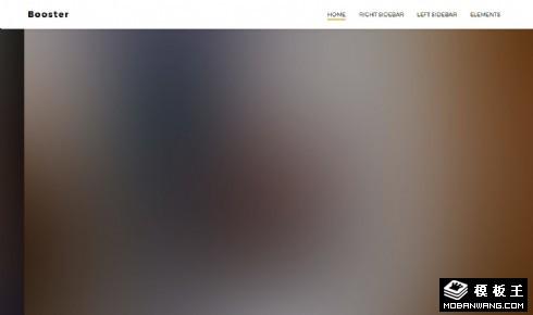企业推广服务信息响应式网页模板