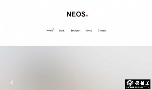 服务功能展示响应式网站模板