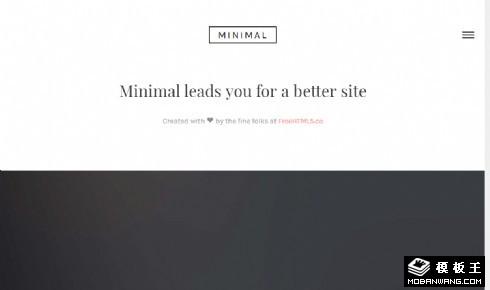 品牌产品动态响应式网站模板