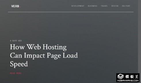 日志推荐列表展示响应式网页模板