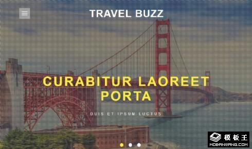旅行顾问服务响应式网页模板