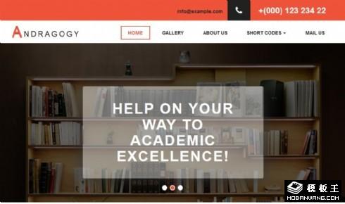 成人教育机构响应式网站模板