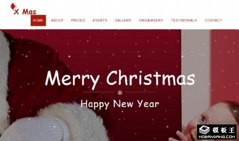 圣诞节主题产品动态响应式网页模板