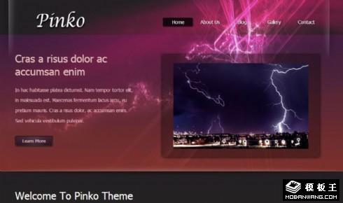 紫光服务信息动态网页模板