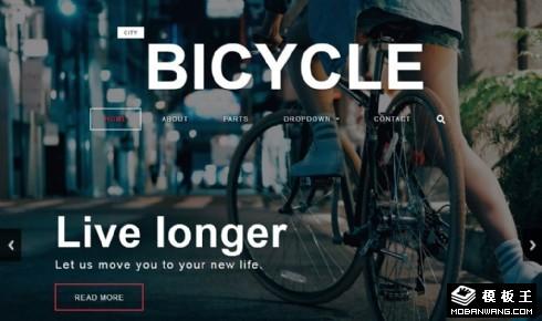 专业变速自行车介绍响应式网页模板