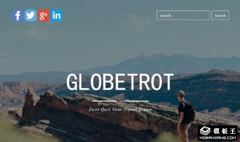 环球旅行动态响应式网站模板