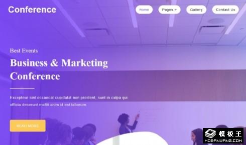 营销策划案例分析响应式网站模板