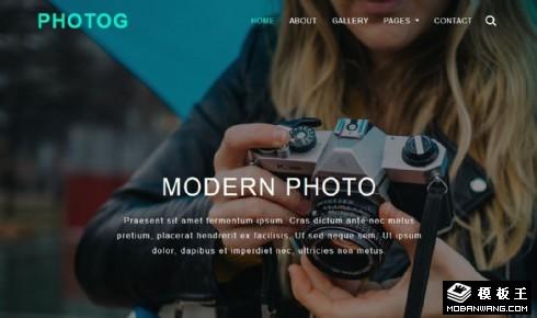 摄影大师艺术动态自适应网站模板
