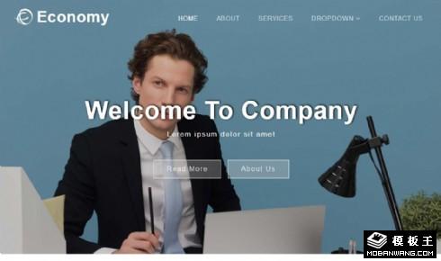 公司介绍案例展示响应式网站模板