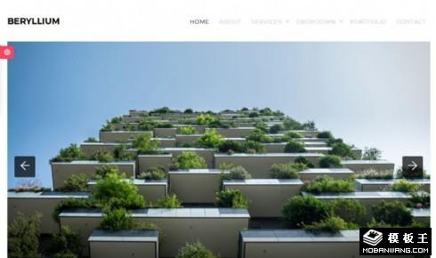 简洁创新设计公司响应式网站模板