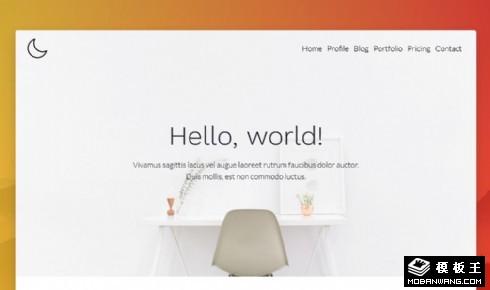 APP产品展示响应式网页模板