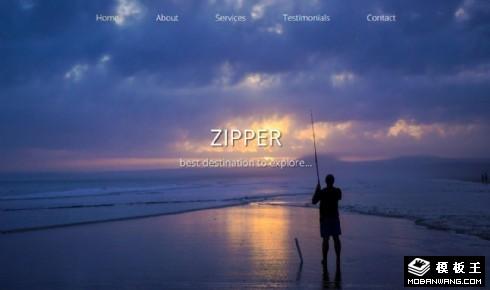 探索发现动态展示响应式网页模板