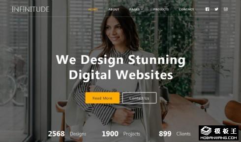 WEB网站设计服务响应式网站模板