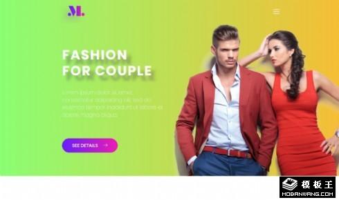 时尚伴侣展示响应式网页乐虎国际手机