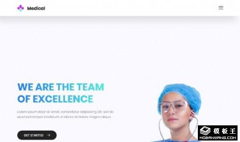 专科医疗服务团队响应式网页乐虎国际手机
