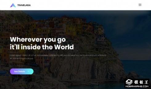 亚洲旅行服务响应式网页乐虎国际手机