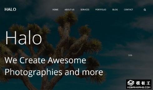 创意动态记录响应式网站模板
