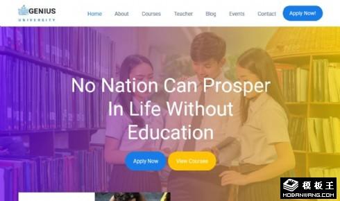 高等学院教育展示响应式网站乐虎国际手机