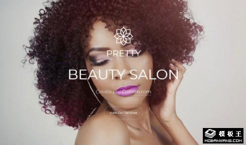 美容美妆服务展示响应式网站乐虎国际手机