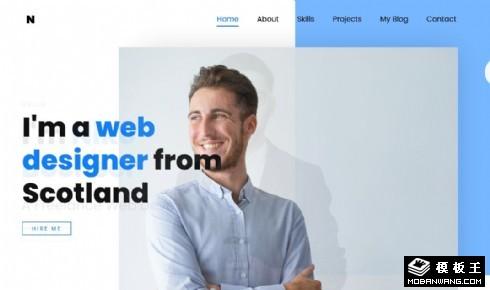 网络应用解决方案响应式网站模板