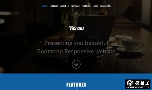 企业APP产品应用响应式网页模板